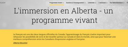 L'immersion en Alberta - un programme vivant